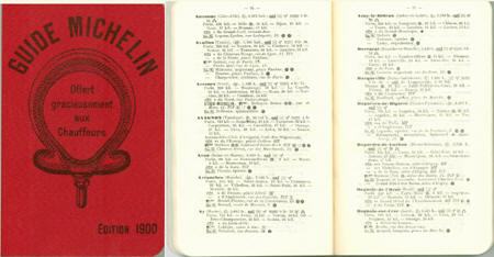Michelin Guide 1900 pages